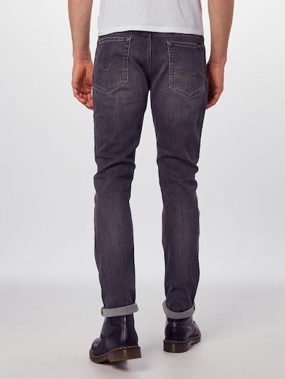 Džinsai 'RONNIE LUXE PERFORMANCE' iš 7 for all mankind , spalva - pilko džinso: Vaizdas iš galinės pusės