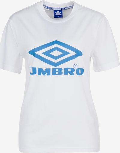 UMBRO T-Shirt in himmelblau / weiß, Produktansicht