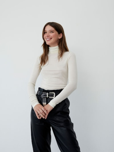 LeGer by Lena Gercke Shirt 'Marie' in de kleur Beige, Modelweergave