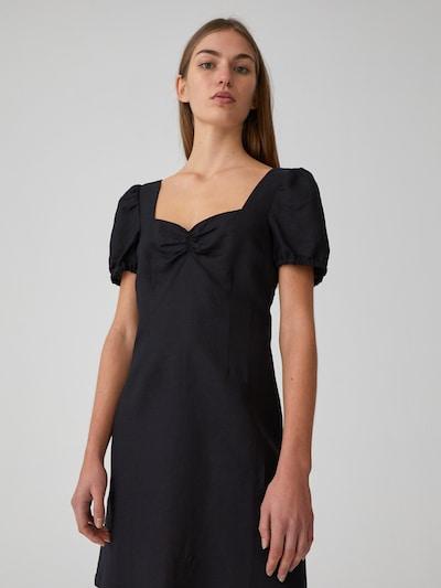 EDITED Kleid 'Telma' in schwarz: Frontalansicht