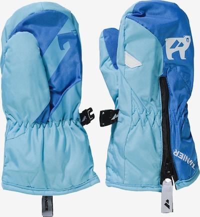 Zanier Skihandschuh in blau / opal / weiß, Produktansicht
