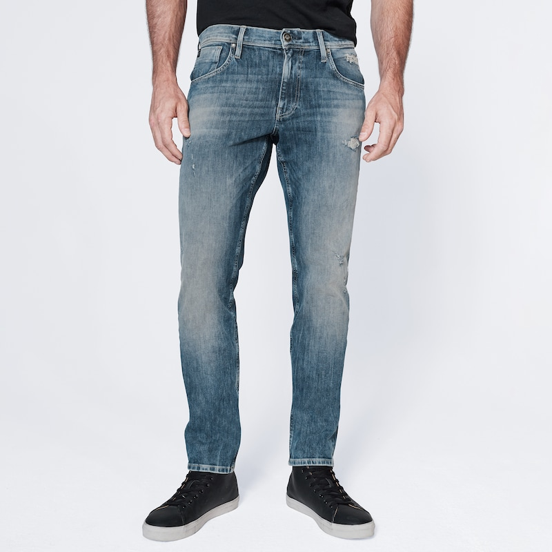 Harlem Soul Jeans 'CLE-VE' in blue denim, Modelansicht