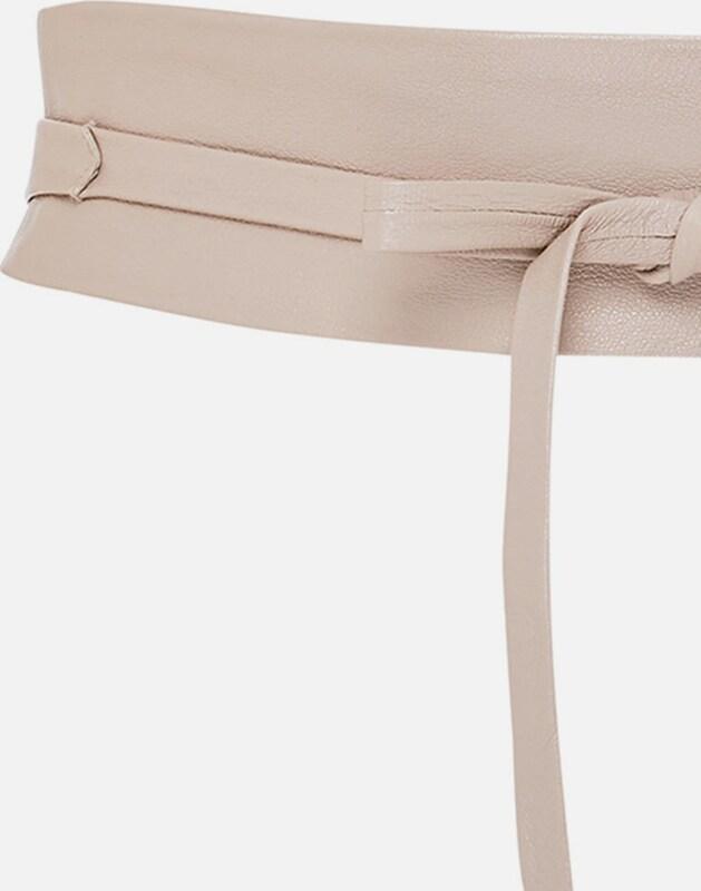 HALLHUBER Leder-Taillengürtel zum Binden