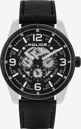 POLICE Quarzuhr 'Lawrence PL15663JSTB.02' in schwarz / silber, Produktansicht