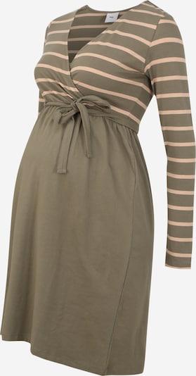 MAMALICIOUS Umstandskleid 'MLMADELLEINE TESS' in beige / grün, Produktansicht