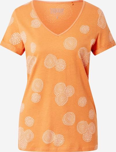 ESPRIT T-shirt 'OCS' en orange / blanc, Vue avec produit