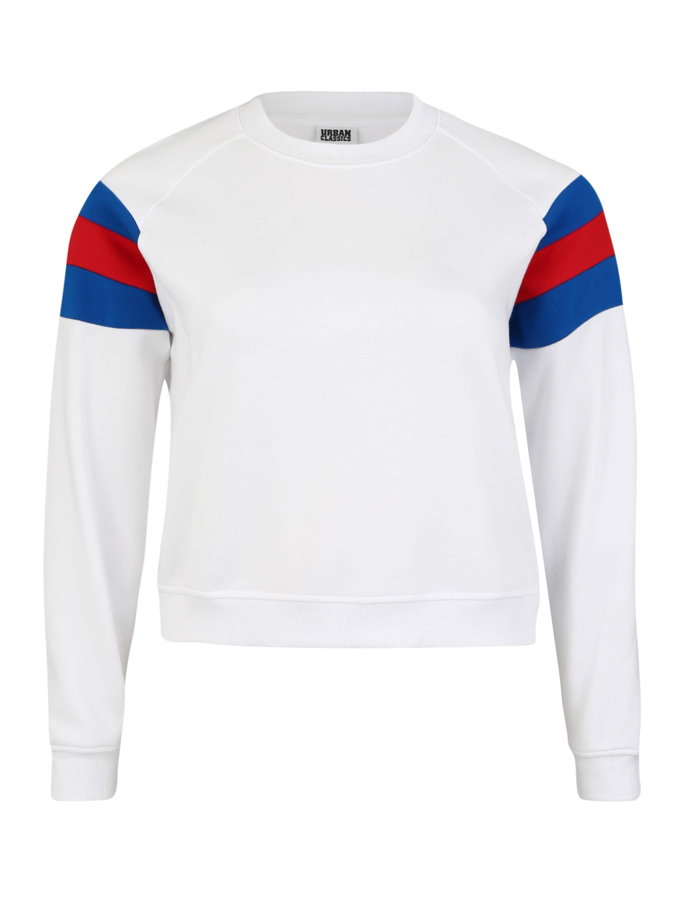 Classics Curvy BlauRot Urban Sweatshirt Weiß In PkXlZiTuwO