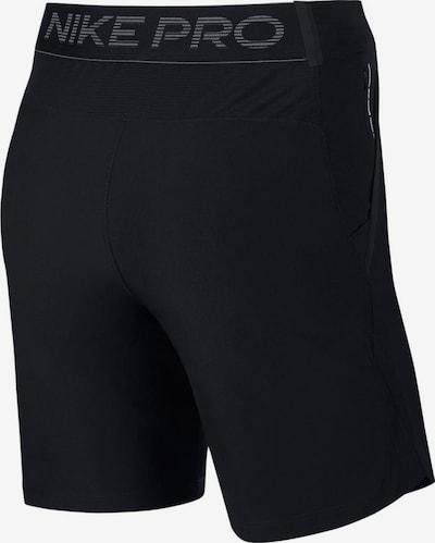 NIKE Pantalon de sport 'M NP FLEX REPEL NPC' en noir: Vue de dos