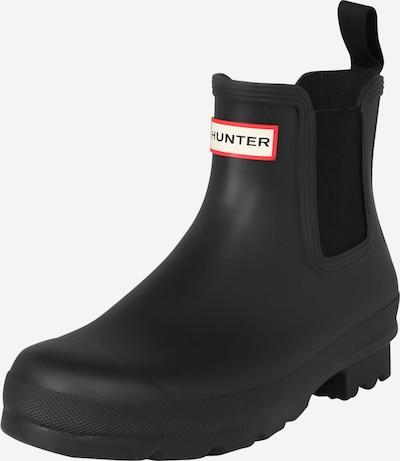HUNTER Chelsea čizme u crna, Pregled proizvoda