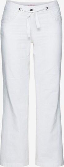 SHEEGO Leinenhose in weiß, Produktansicht