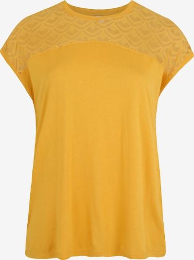 sárga ONLY Carmakoma Póló 'CARFLAKE', Termék nézet