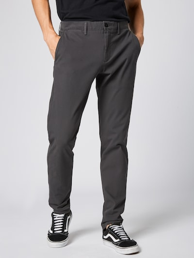 Dockers Pantalon chino 'SMART 360 FLEX' en gris foncé: Vue de face