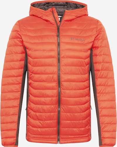 COLUMBIA Veste de sport 'Powder Pass' en orange, Vue avec produit