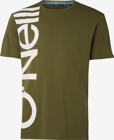 O'NEILL T-Shirt in oliv / weiß, Produktansicht