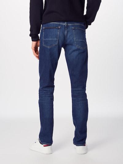TOMMY HILFIGER Džinsi 'CORE DENTON STRAIGHT' pieejami zils džinss: Aizmugures skats