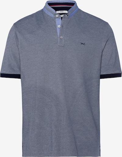 BRAX Polo 'Pollux' in hellblau / dunkelblau / graumeliert, Produktansicht