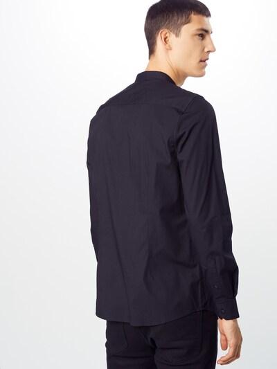 BURTON MENSWEAR LONDON Koszula biznesowa w kolorze czarnym: Widok od tyłu