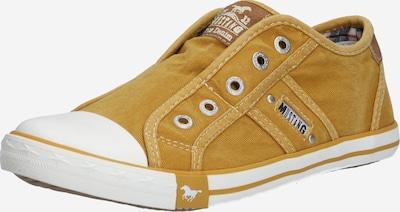 MUSTANG Sneaker in ocker, Produktansicht