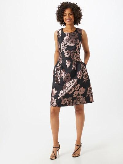 APART Kleid in mauve / schwarz, Modelansicht