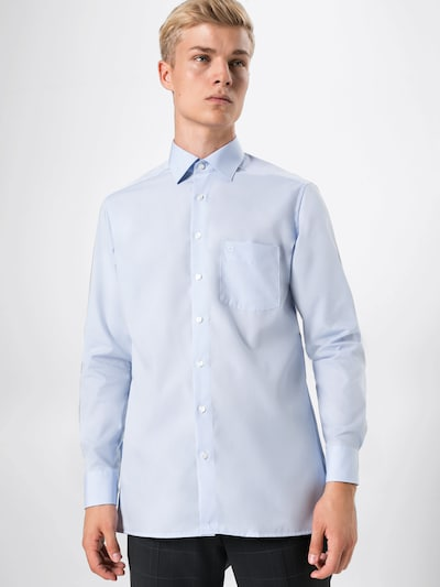OLYMP Poslovna košulja u plava: Prednji pogled