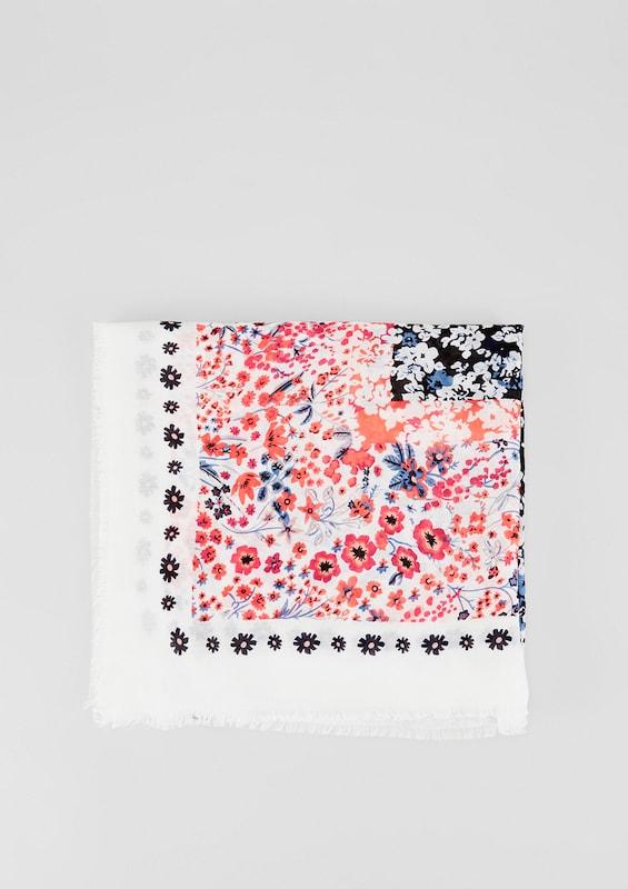 S.oliver Red Label Tuch Mit Floralem Print