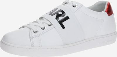 Karl Lagerfeld Baskets basses 'KUPSOLE II' en rouge / noir / blanc, Vue avec produit