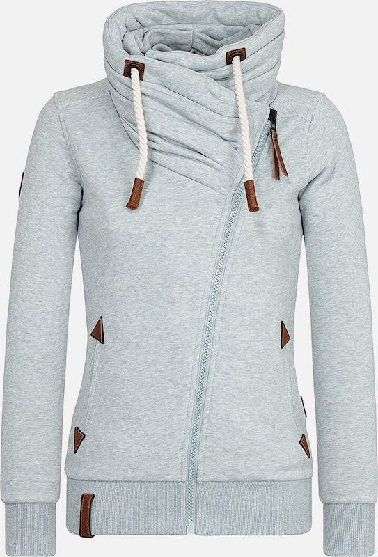 Naketano Sweatjacke mint