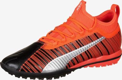 PUMA Fußballschuh 'One 5.3 TT' in orangerot / schwarz / silber, Produktansicht