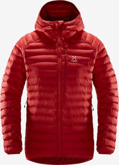 Haglöfs Zunanja jakna 'Essens Mimic Hood Women' | rdeča barva, Prikaz izdelka