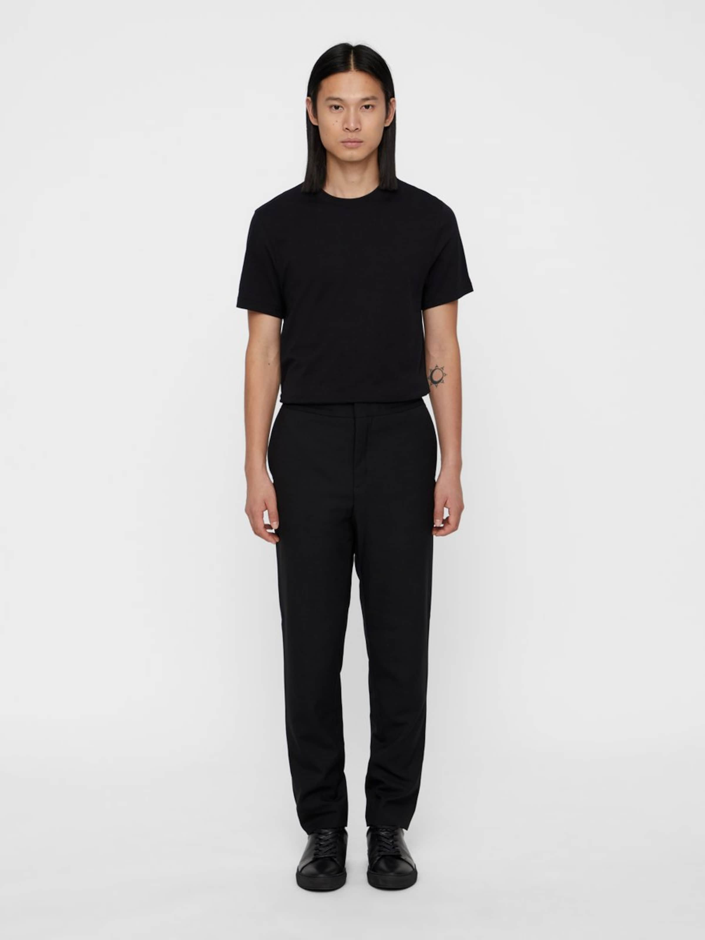 T shirt In 'silo' J lindeberg Schwarz RqLc435Aj