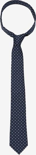 SEIDENSTICKER Krawatte 'Schwarze Rose' in blau / weiß, Produktansicht