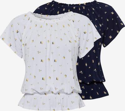 VIVANCE Shirt in blau / weiß, Produktansicht
