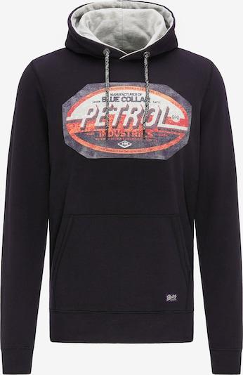 Petrol Industries Sweatshirt in de kleur Gemengde kleuren / Zwart, Productweergave