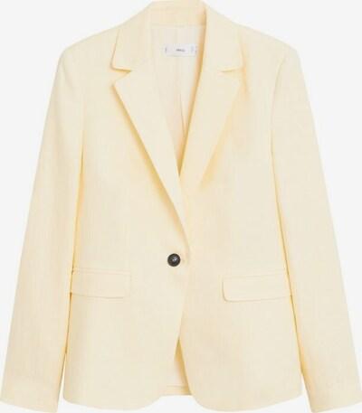 MANGO Blazer 'Boreli' in gelb, Produktansicht