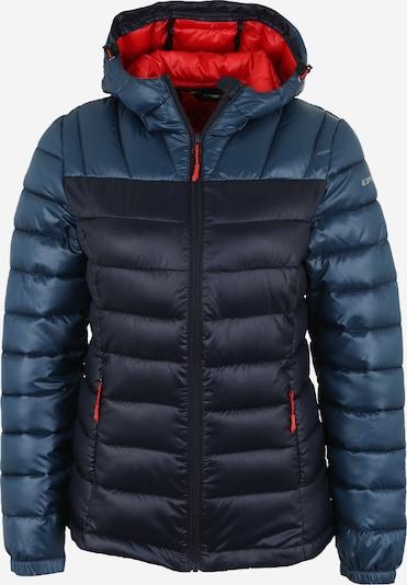 ICEPEAK Outdoorjas 'Layan' in de kleur Navy / Duifblauw, Productweergave