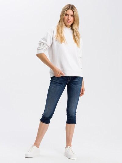 Cross Jeans Caprihose in blau, Modelansicht