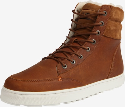 HUB High-Top Sneaker 'Dublin L30 Merlins' in cognac, Produktansicht