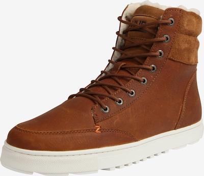 HUB High-Top Sneaker 'Dublin L30 Merlins' in cognac, Produktansicht