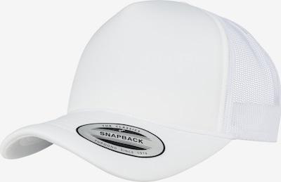 Flexfit Cap 'Foam Trucker Curved Visor' in weiß, Produktansicht