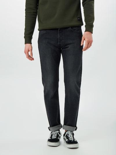 Jeans '501 ORIGINAL FIT' LEVI'S pe denim albastru, Vizualizare model