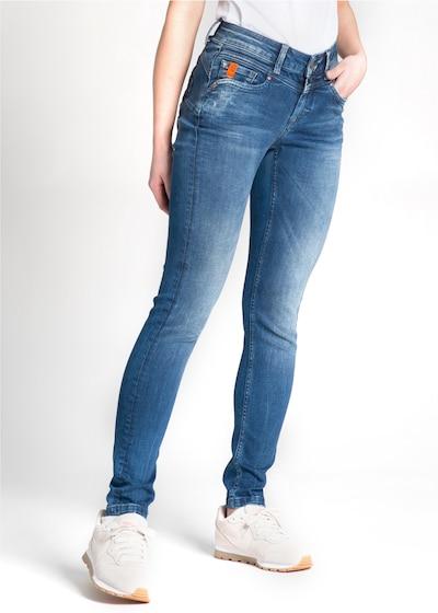 Miracle of Denim Jeans 'Ellen' in blau, Modelansicht