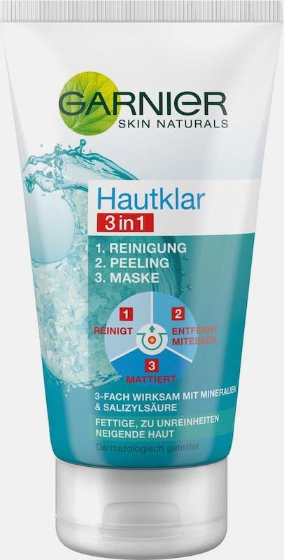 GARNIER 'Hautklar 3in1 Reinigung/Peeling/Maske', Gesichtsreinigung