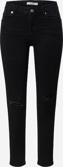 NA-KD Jeans in black denim, Produktansicht