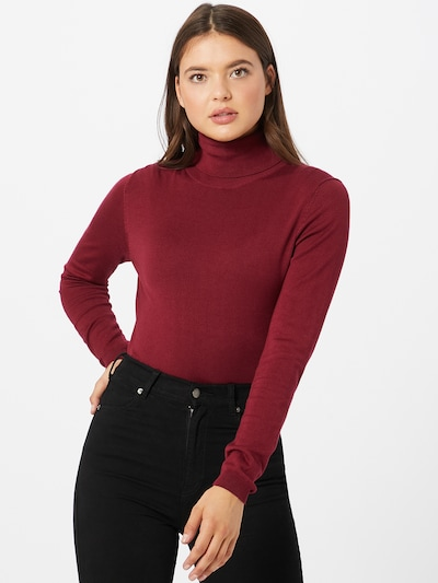 ESPRIT Pullover in bordeaux, Modelansicht