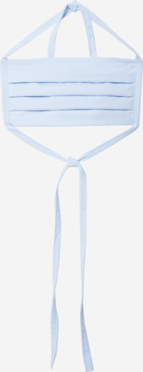 BeWooden Masque en tissu 'Community' en bleu clair, Vue avec produit