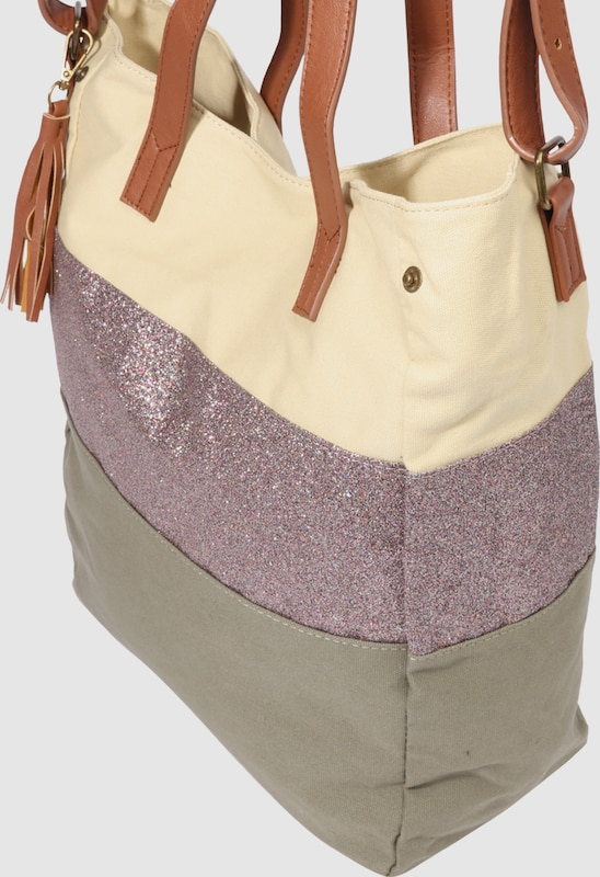 PIECES Shopping Bag 'PCSJANNE'