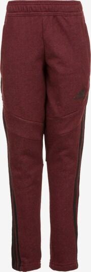 ADIDAS PERFORMANCE Trainingshose in rot / schwarz, Produktansicht