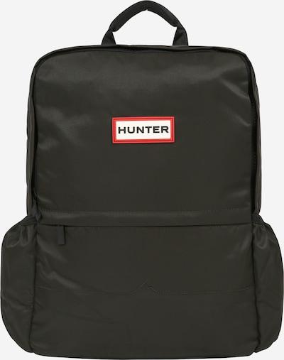 HUNTER Rucksack in rot / schwarz / weiß, Produktansicht