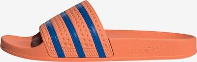 ADIDAS ORIGINALS Muiltjes in de kleur Blauw / Sinaasappel, Productweergave