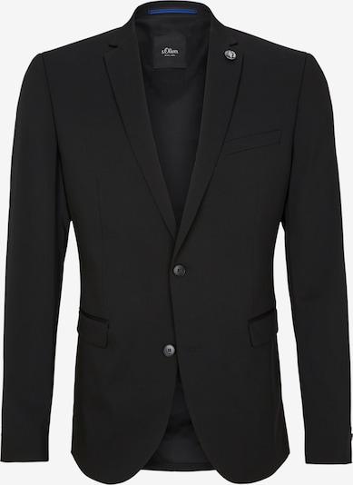 s.Oliver BLACK LABEL Suknjič | črna barva, Prikaz izdelka